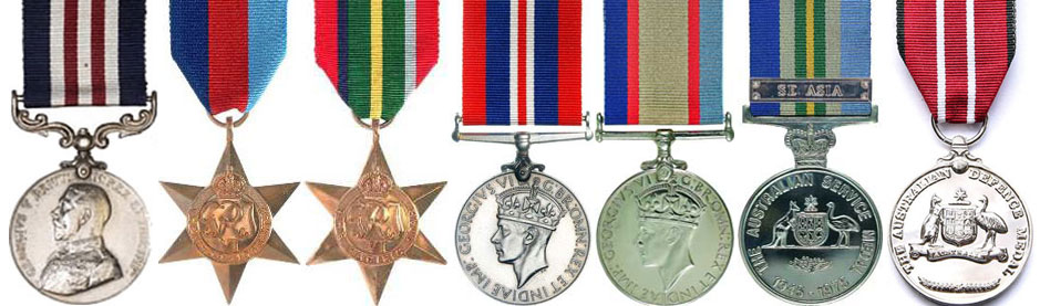 Bede-Tongs-War-Medals