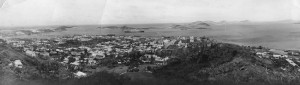 Noumea, New Caledonia circa 1943.  Albert Robertson Fowlie served here during the Second World War with the N.Z. Army Service Corps.