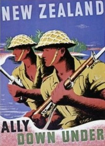 New Zealand recruitment poster during the Second World War.
