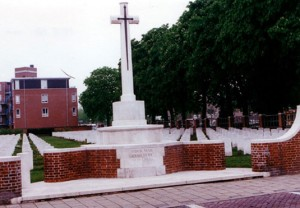 Commonwealth War Graves Commission photograph of Uden War Cemetery in the Netherlands (Holland).