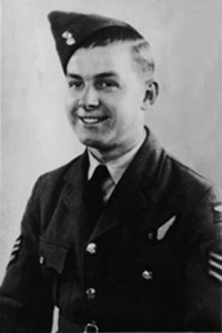 Sergeant Victor GLEDHILL of the Royal Air Force Volunteer Reserve (RAFVR)