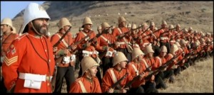Scene from the 1979 film Zulu Dawn