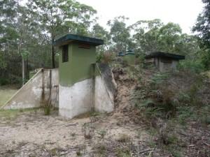 Underground Operations Building - No 11 Operational Base Unit RAAF (Royal Australian Air Force) Moruya established circa 1942