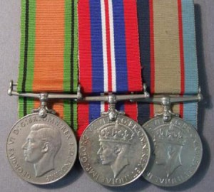 The Defence Medal, 1939-1945 War Medal and the 1939-1945 Australia Service Medal, similar to that awarded to Corporal Roy Gordon CLARKE for World War Two service in the Royal Australian Air Force.  Can you help this family recover Roy's missing war medals?